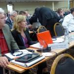 Frank Schildt und ich auf der Ostseeparlamentarierkonferenz